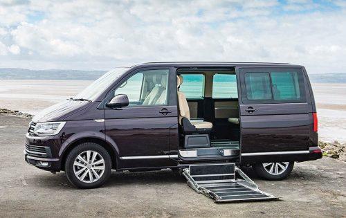 Volkswagen Caravelle yandan görünüm