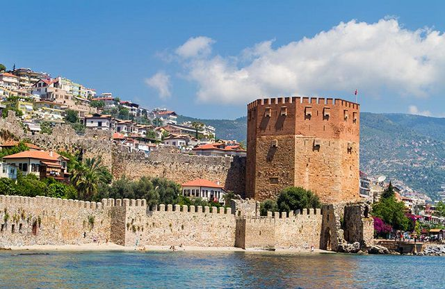 Antalya - Alanya Korakesion Sahili