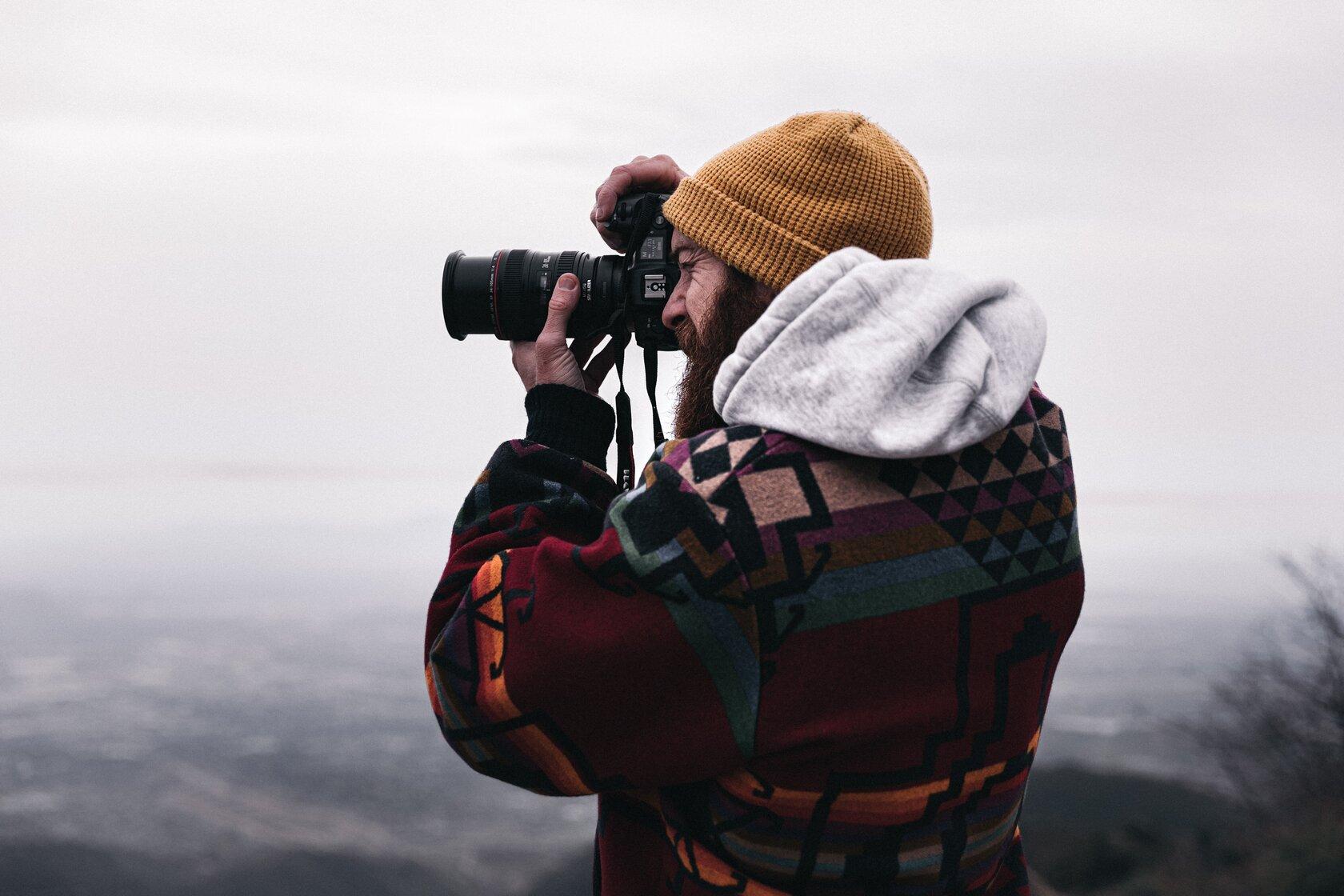 doğa fotoğrafı çeken adam, indie, fotoğrafçı