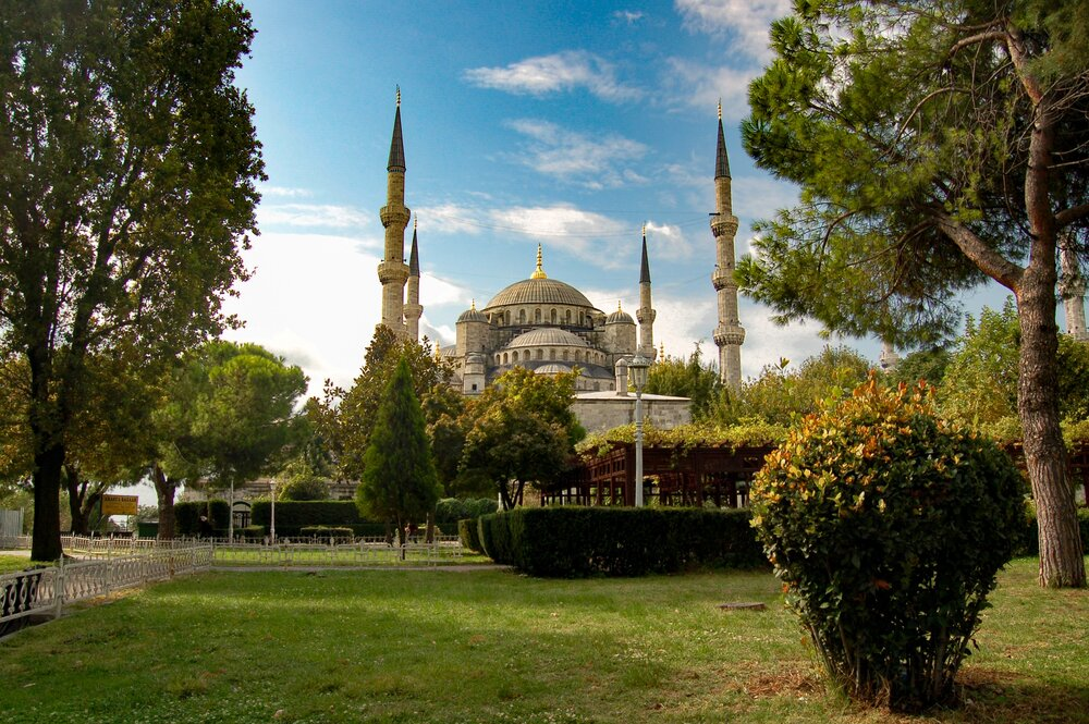 manzara fotoğrafı çekilecek yerler, sultanahmet manzarası