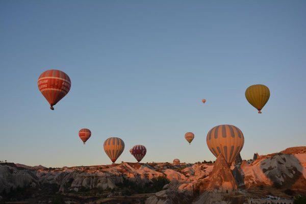 kapadokya balon manzaraları, Türkiye'de görülmesi gereken yerler