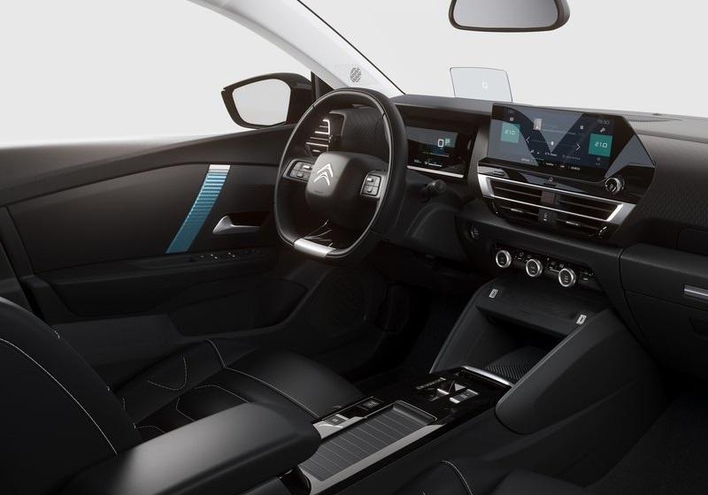 yeni citroén c4 2021, iç mekan, interior