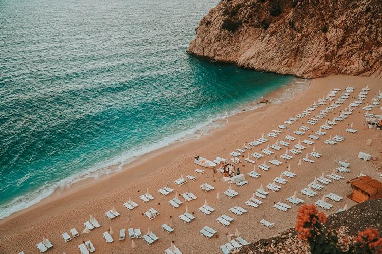 kaputas plaji, beach, antalya, kas
