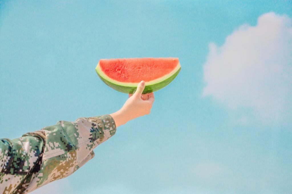 yaz yemekleri, karpuz, watermelon, popart