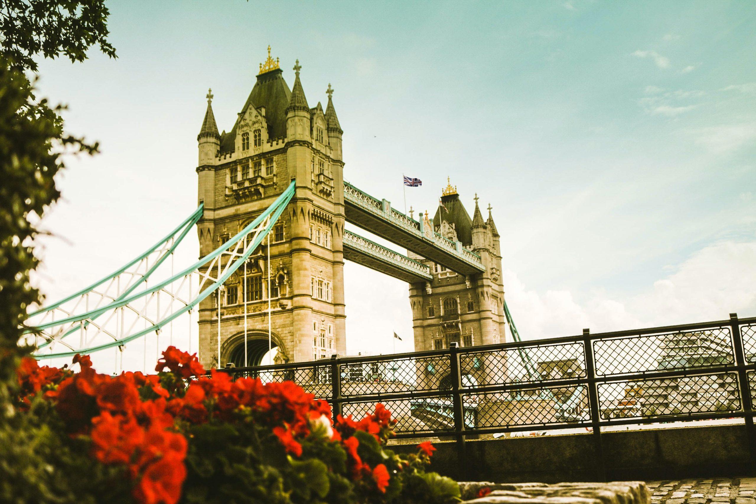london, tower bridge, road