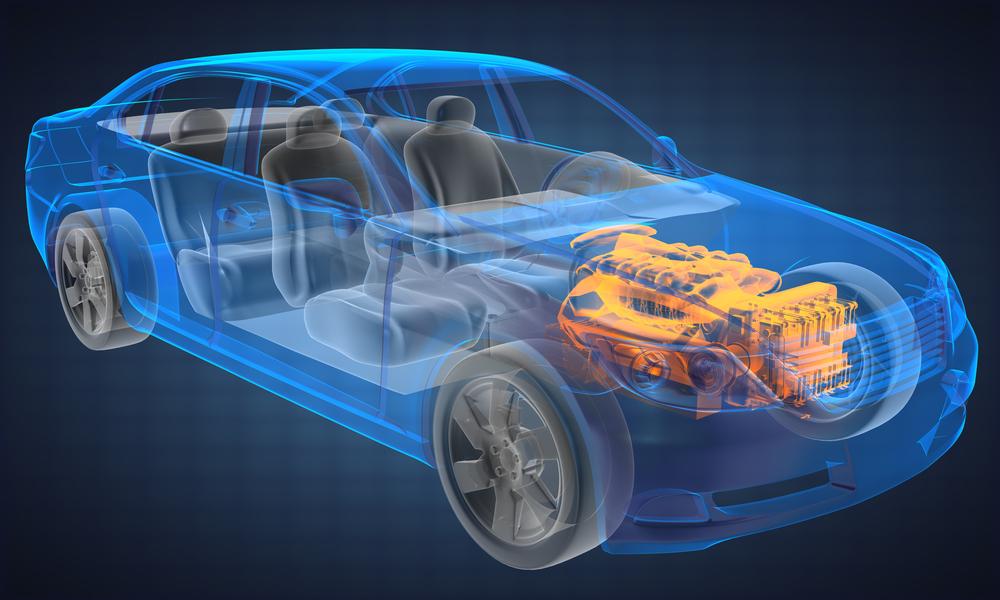 sandık motor nedir, otomobil motor blok grafik