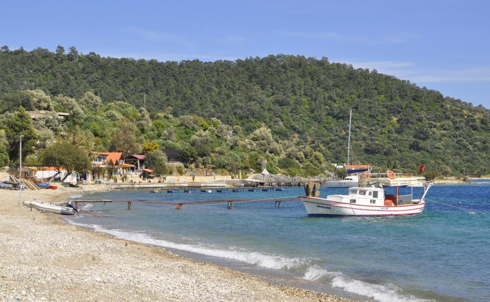 arpabükü koyu, Çökertme Mahallesi, sahil, liman