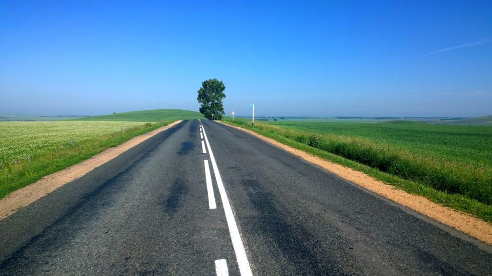 Eskişehir araba sürme yerleri, boş yol, boş arazi