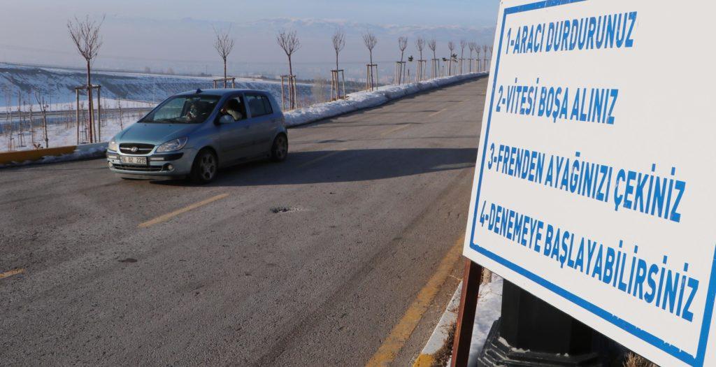 Gizemli Yol, Palandoken , Erzurum