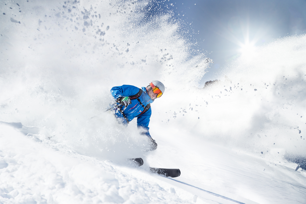 kartepe, kayak yapan sporcu