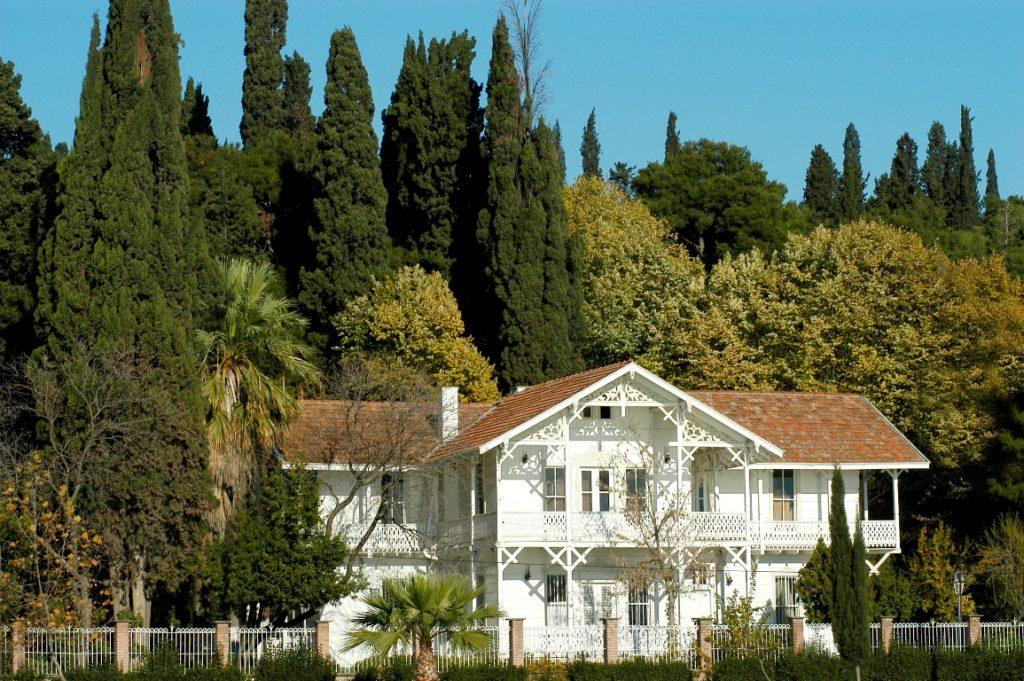 osman hamdi bey köşkü, beyaz köşk, villa, malikane