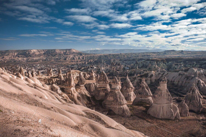 Kapadokya, Nevşehir, Türkiye, Peri Bacaları, Doğa manzaraları
