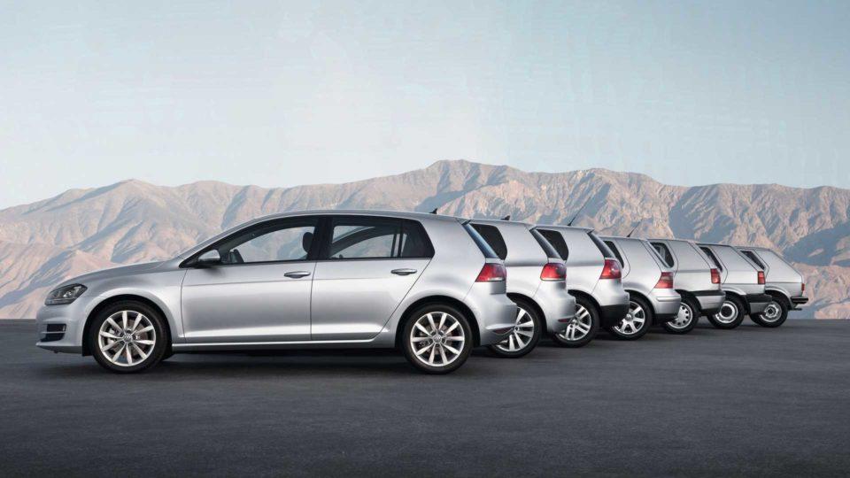 Volkswagen Golf Tarihi, jenerasyonları, modeller