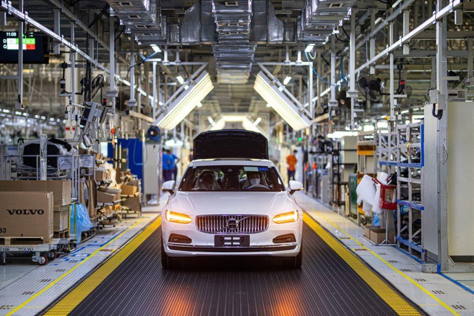 Volvo'dan İklim Nötr Fabrika, daqing, çin, araba üretimi