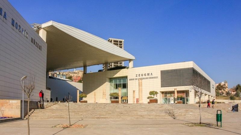 zeugma mozaik müzesi dıştan görünüm